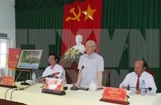 Líder partidista urge a luchar contra salinización en el delta de Mekong