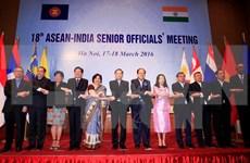 Efectúan XVIII Reunión de Altos Funcionarios ASEAN-India