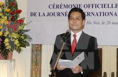 Prioriza Vietnam fomento de nexos con Comunidad Internacional Francófona