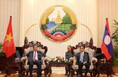 Elogian cooperación entre ministerios de Planificación e Inversión de Vietnam y Laos