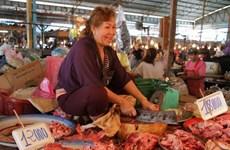 Laos prohíbe importación de carne de cerdo
