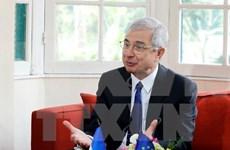 Presidente de Asamblea Nacional de Francia concluye visita a Vietnam