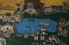 Pinturas de madera tallada deleitan a público de Hanoi