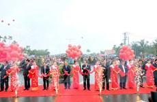 En funcionamiento puente Cua Dai en Quang Nam