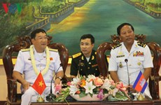 Armadas de Vietnam y Camboya intensifican cooperación