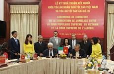 Vietnam y Argelia comparten experiencias en labores jurídicas
