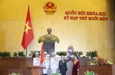 Asamblea Nacional de Vietnam tiene primera presidenta en su historia