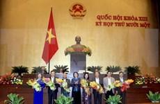 Presentan lista de nominaciones a vicepresidentes de Parlamento