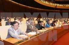 Aprueba Parlamento vietnamita cuatro proyectos de leyes