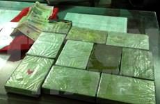 Decomisan gran cantidad de heroína en frontera entre Vietnam y Laos