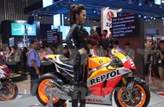 Por primera vez se efectúan exhibición de motos de Vietnam