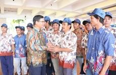 Repatriados pescadores vietnamitas detenidos en Indonesia