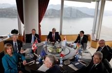 Cancilleres de G7 llaman a mantener seguridad marítima