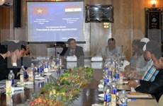 Promueven comercio e inversión entre Vietnam y Egipto