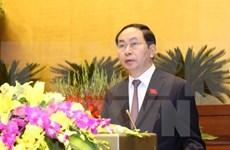 Líderes mundiales congratulan a nuevo presidente de Vietnam
