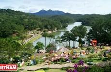 El Valle del Amor en la ciudad turística de Da Lat