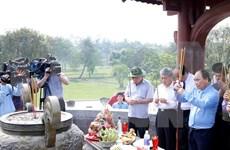 Reverencian a héroes y mártires en la provincia de Quang Tri