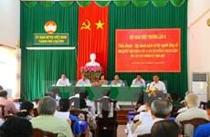 Tercera conferencia consultiva aprueba lista de candidatos a elecciones legislativas