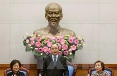Premier elogia operación efectiva del Fondo de becas Vu A Dinh
