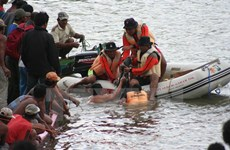 Myanmar: 21 muertos en un naufragio