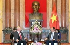 Rusia - alta prioridad en política exterior de Vietnam, afirma presidente