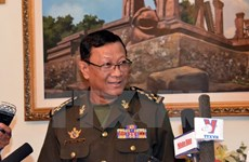 Intensifican Camboya y Estados Unidos cooperación en seguridad marítima