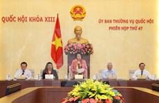 Clausuran reunión 47 de Comité Permanente de Parlamento vietnamita