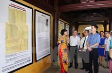 Exponen en Vietnam archivos de última dinastía feudal