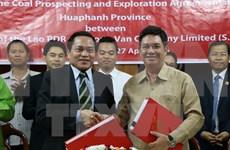 Vietnam realiza proyecto de explotación de carbón en Laos