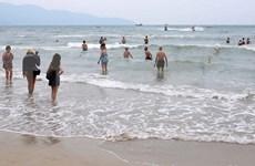Calidad de agua del mar de Da Nang en límite mínimo permitido