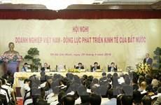 Preside premier conferencia nacional sobre desarrollo de comunidad empresarial