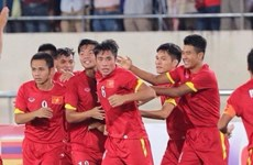 Selección olímpica vietnamita participa en ronda final de fútbol regional