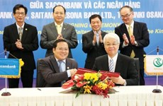 Sacombank coopera con grupo japonés en servicios de atención al cliente