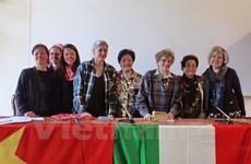 Foro Italia-Vietnam para honrar papel de mujeres