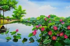 Exposición sobre flores de Vietnam y Sudcora abre sus puertas en Hanoi
