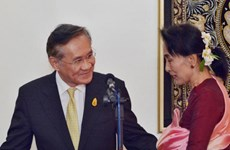 Myanmar y Tailandia se comprometen por incrementar nexos bilaterales