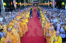 Congratulan a destacados dignatarios en ocasión del gran Fiesta Budista 2016