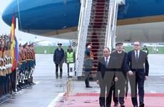 Premier vietnamita llega a Rusia para iniciar su visita oficial