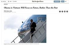 The New York Times publica artículo sobre próxima visita de Obama a Vietnam