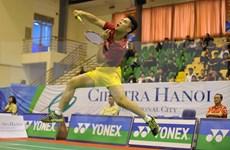 Badmintonistas vietnamitas y extranjeros se darán cita en torneo en Hanoi