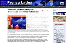 Prensa internacional informa sobre elecciones generales de Vietnam