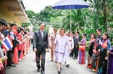Princesa tailandesa participa en la presentación de libro sobre Vietnam
