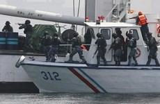 Países sudesteasiáticos intensifican lucha contra delincuencia en el mar