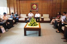 Organización sudcoreana ayuda a mejorar ingresos de agricultores en Cao Bang