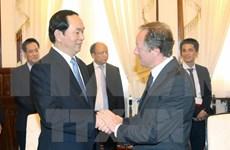 Presidente de Vietnam recibe a embajadores de Cuba y Unión Europea