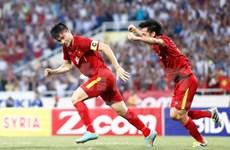 Vietnam gana 2-0 a Siria en partido amistoso de fútbol