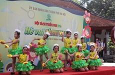 Infantes vietnamitas gozan de momentos felices en Día Internacional del Niño