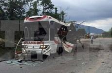 Ocho vietnamitas fallecen en explosión de autobús en Laos