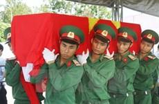 Vietnam y Laos cooperan en búsqueda de restos de combatientes
