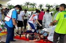 Dos muertos y 20 heridos en colisión de dos lanchas turísticas en Tailandia